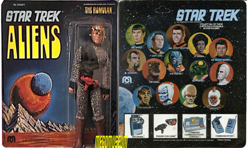 Mego Romulan in his very rare packaging