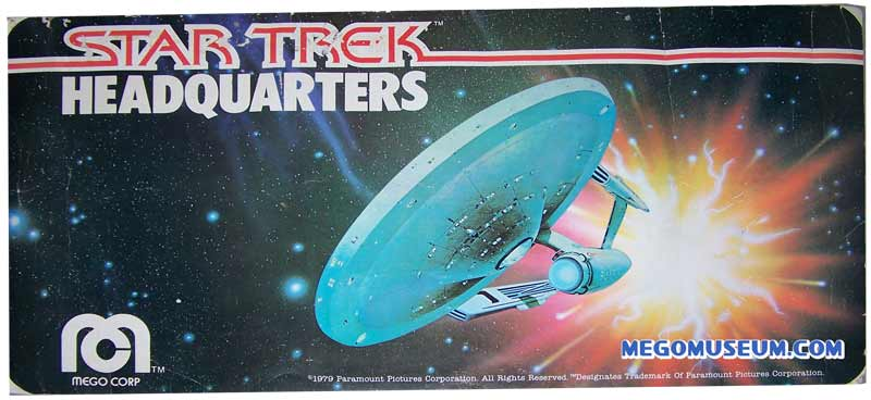 mego star trek display sign
