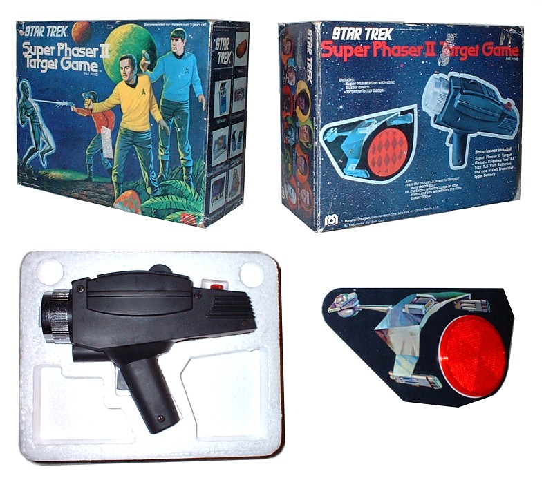 the Mego Phaser Game