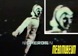 Mego's original protoype for the Star Trek Aliens Cheron