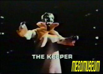 Mego's original protoype for the Star Trek Aliens Keeper