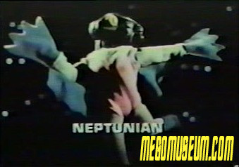 Mego's original protoype for the Star Trek Aliens Neptunian
