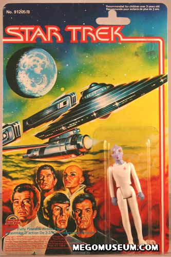 Mego Rigellian on Grand Toys Card