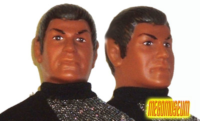 The Mego Romulan Headsculpt is among the finest of any Mego likeness