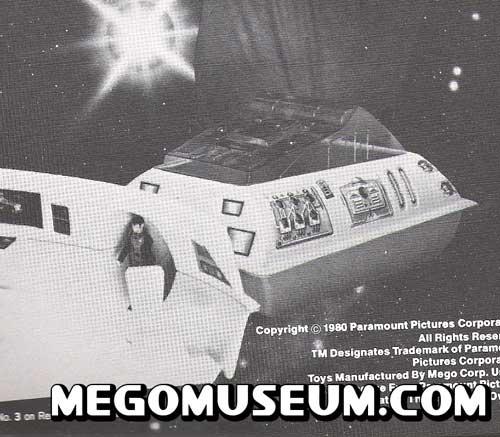Mego Vulcan Shuttle Prototype