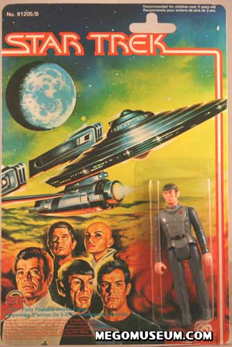 Mego Spock  on Grand Toys Card