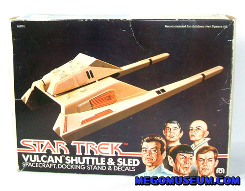 the mego star trek vulcan shuttle