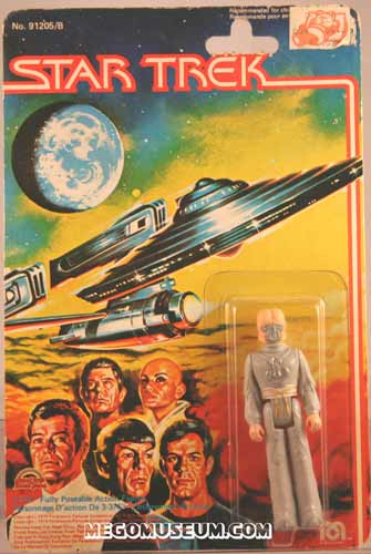 Mego Zaranite on Grand Toys Card