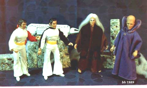 The Mego Space:1999 Crew