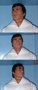Mego Buck Rogers 25th Century Head Sculpt Detail Click to Enlarge