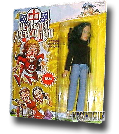 Mego carded Pam is the only one known to exist