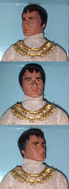Mego Buck Rogers  25th Century Killer Kane Head Sculpt Detail Click to Enlarge