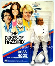 original Mego Boss Hogg card