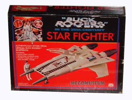 The Buck Rogers Starfighter, one of Mego's better Space ships