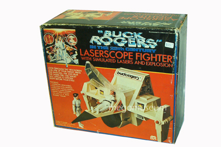 The Buck Rogers Laser ship was a vehicle not based on the series, it also turned up in Mego's Black Hole line