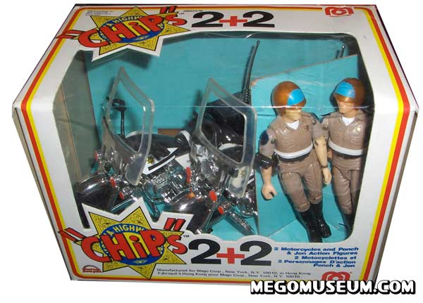rare mego canadian two pack
