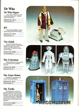 Dr Who Denis Fisher Catalog Page