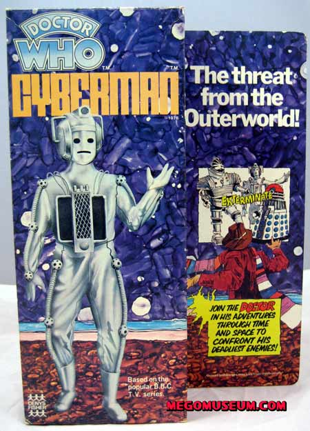The elusive box for the Mego Cyberman