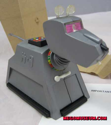 Mego k-9 from the Doctor Who line