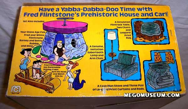 Mego produced FLinstones toys