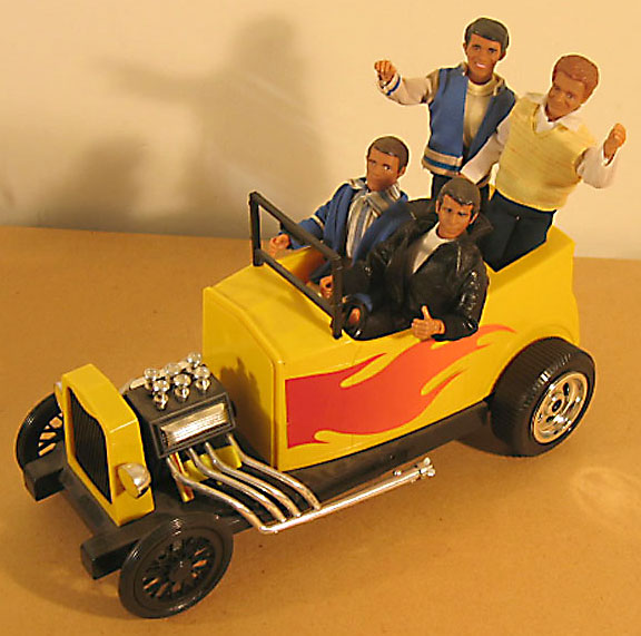 Happy days mego museum galleries for Garage happy car