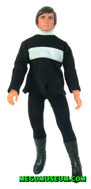 Mego prototype of Sandman Francis from Logan's Run