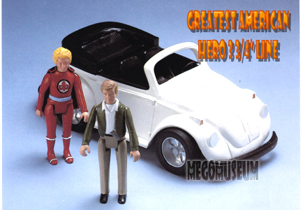 Mego 3 inch figures were becoming more prominent in the eighties