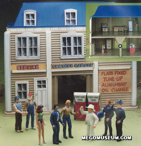 Cooters garage by mego