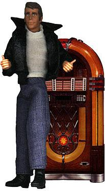 Mego Fonzie was the only figure that sold in the line according to Mego brass