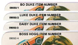 Boss Hogg has the very last item number
