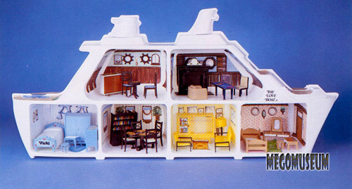 Mego Love Boat Playset
