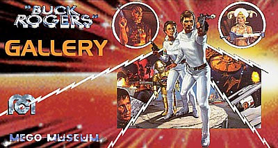 Mego produced Buck Rogers figures for 3 years