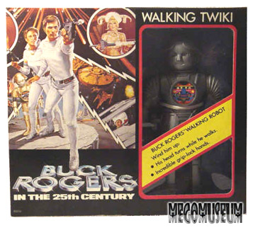 Mego Walking twiki fit in well with the 12 inch Buck Figures