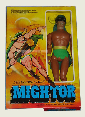 Mego Mighty Mightor is featured in todays update