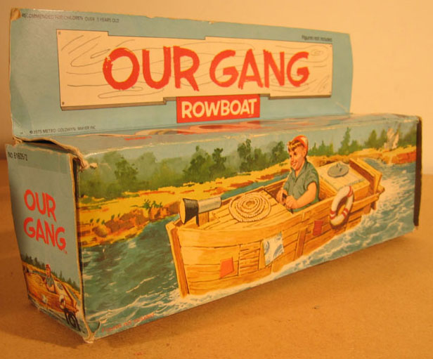 Our Gang Boat Box Mego 1976