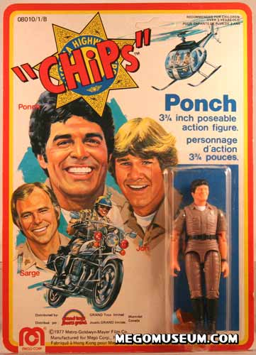 Mego Chips carded Ponch