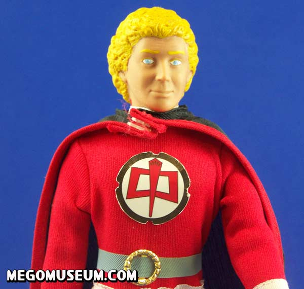 The Ralph sculpt is somewhat more cartoony than usual mego standards