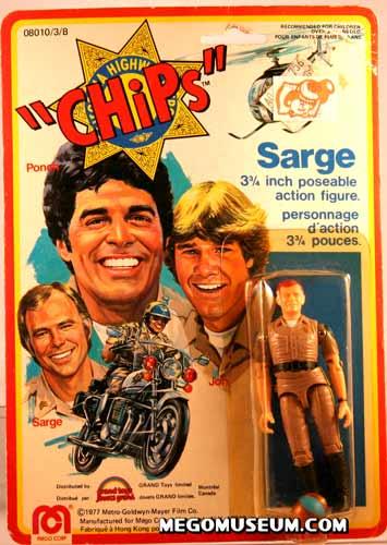 Mego Chips carded Sarge