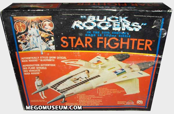 The Buck Rogers Starfighter Canadian Box