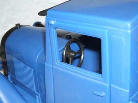Waltons Truck Inside