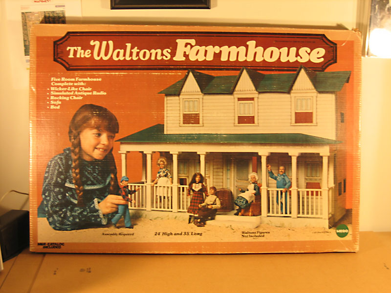 1975 Waltons Farmhouse by Mego