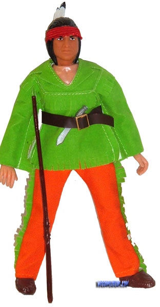 Mego Tiger Jack is the easiest figure to find in the line