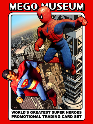 Worlod's Greatest Super Heroes Trading Card Cover