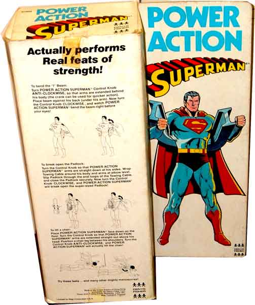 Mego Denys Fisher Power Action Superman