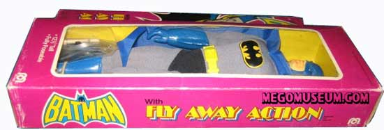 The Mego 12 inch Batman is non magnetic and has a unique box
