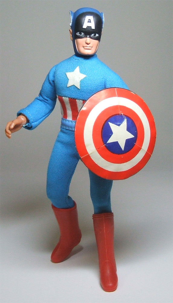Captain America Wgsh Gallery Mego Museum
