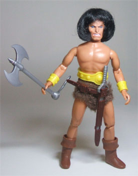 Conan Mego with accessories