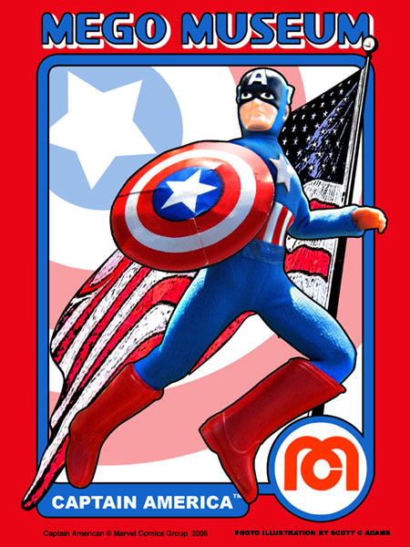 Captain America Mego Museum Galleries