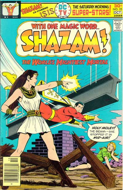 IS Shazam Power Hour Comic