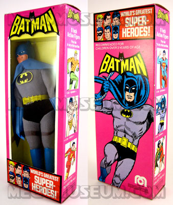 1976 Batman Mego MIB
